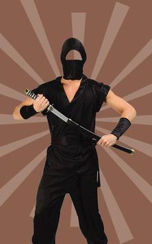 Photo Suit for Ninja apk screenshot