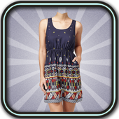 Collage Girl Dress Suit icon