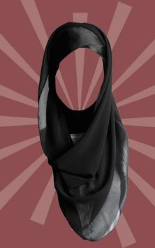 Hijab Woman Suit poster