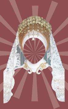 Wedding Suit Hijab Woman poster