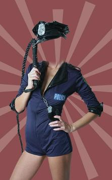 Women Police Suit Camera poster
