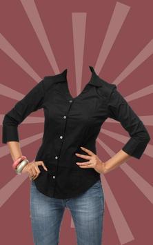 Women Shirt Suit Maker poster