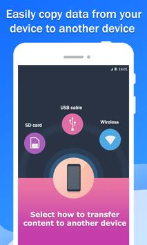 Smart Switch Data & Mobile Content Transfer poster