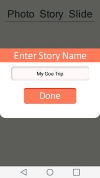 Photo Story -Musical Slideshow apk screenshot