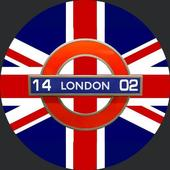 London Remembers Smartwatch face icon