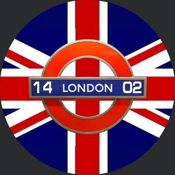 London Remembers Smartwatch face screenshot 1