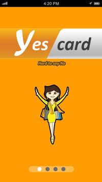YES Card poster