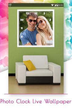 Photo Clock Live Wallpaper screenshot 2
