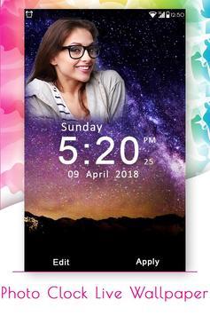 Photo Clock Live Wallpaper screenshot 3