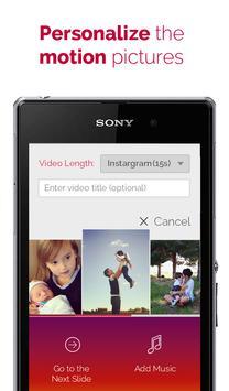 PicMotion - photo video slide apk screenshot