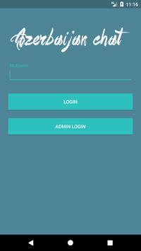 Anonim chat Azerbaycan poster