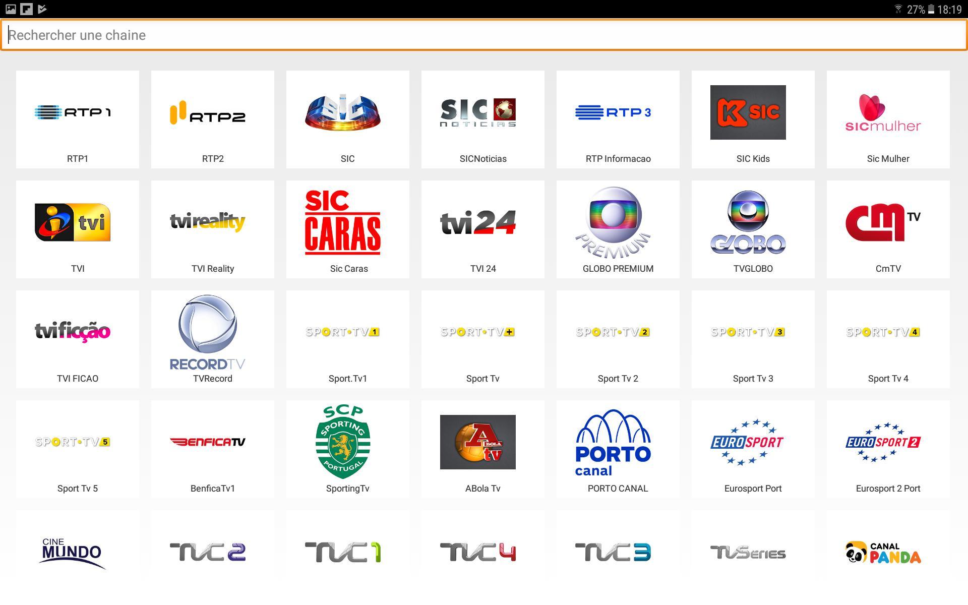 Portugal Tv para Android - APK Baixar