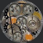 Steampunked Smartwatch face icon