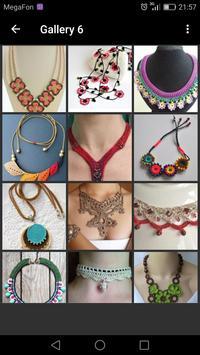 Crochet Necklace screenshot 1
