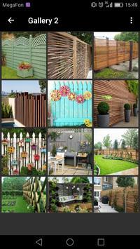 Garden Fence Ideas screenshot 1