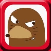 【無料】もぐらたたきゲーム:もぐべぇをやっつけろ! icon