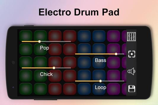 Electro Music Drum Pads poster