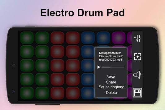 Electro Music Drum Pads screenshot 2