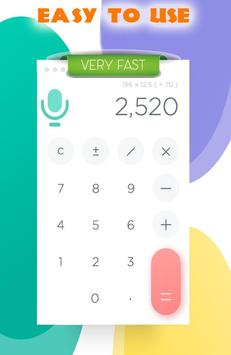 Voice Calculator : Simplify and Math Calculator poster