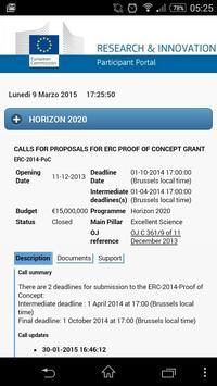 Horizon 2020 apk screenshot
