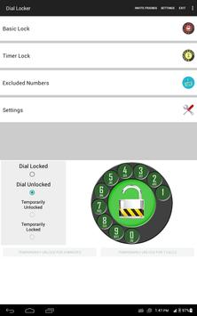 Dial Lock - Call Locker screenshot 5