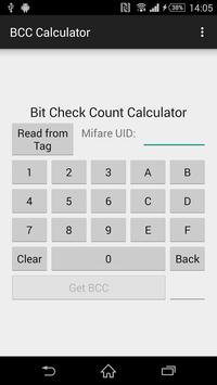 Bit Check Count Calculator poster
