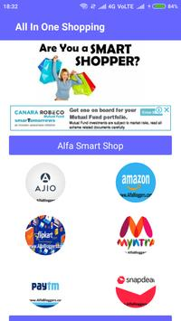 All In One Shopping Android  App poster