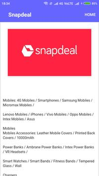 All In One Shopping Android  App screenshot 6