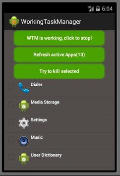 Working Task Manager screenshot 1