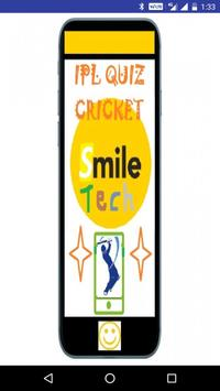 IPL Quiz cricket poster