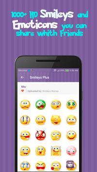 Smileys 😄 apk imagem de tela