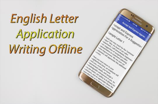English Letter Application Writing Offline For Android  Apk Download