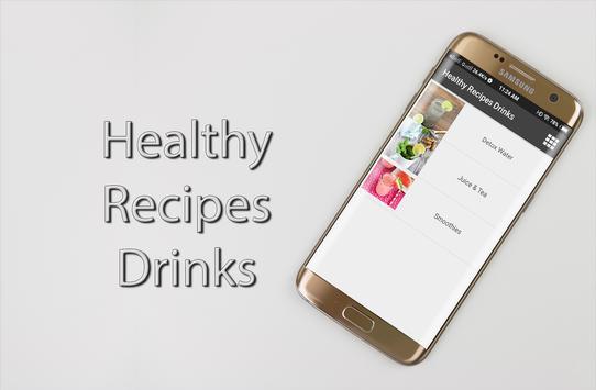 Healthy Recipes Drinks screenshot 3