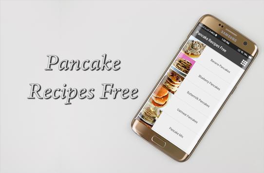 Pancake Recipes Free screenshot 3