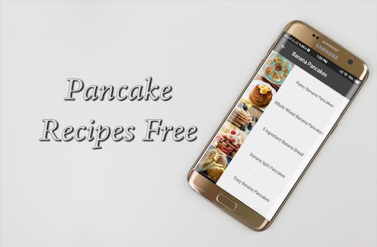 Pancake Recipes Free screenshot 4