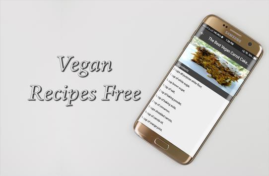 Vegan Recipes Free screenshot 2