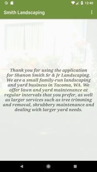 Smith Landscaping - Tacoma, WA poster