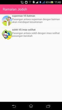 Ramalan Jodoh apk screenshot