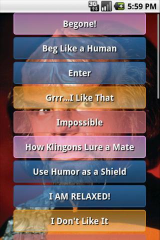 Star Trek Worf Soundboard for Android - APK Download