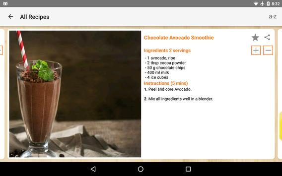 Smoothie Recipes screenshot 10