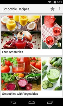 Smoothie Recipes screenshot 1