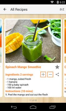 Smoothie Recipes screenshot 4