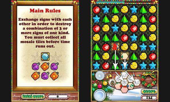 Jewellust Xmas Lite apk screenshot
