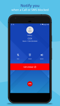 Call & SMS Control - Block unwanted call and sms screenshot 11