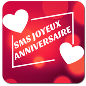 Top Sms Happy Birthday French icon