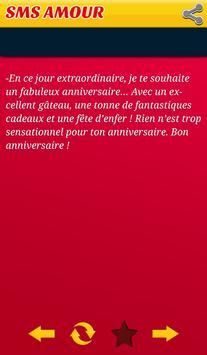 Top Sms Happy Birthday French apk screenshot