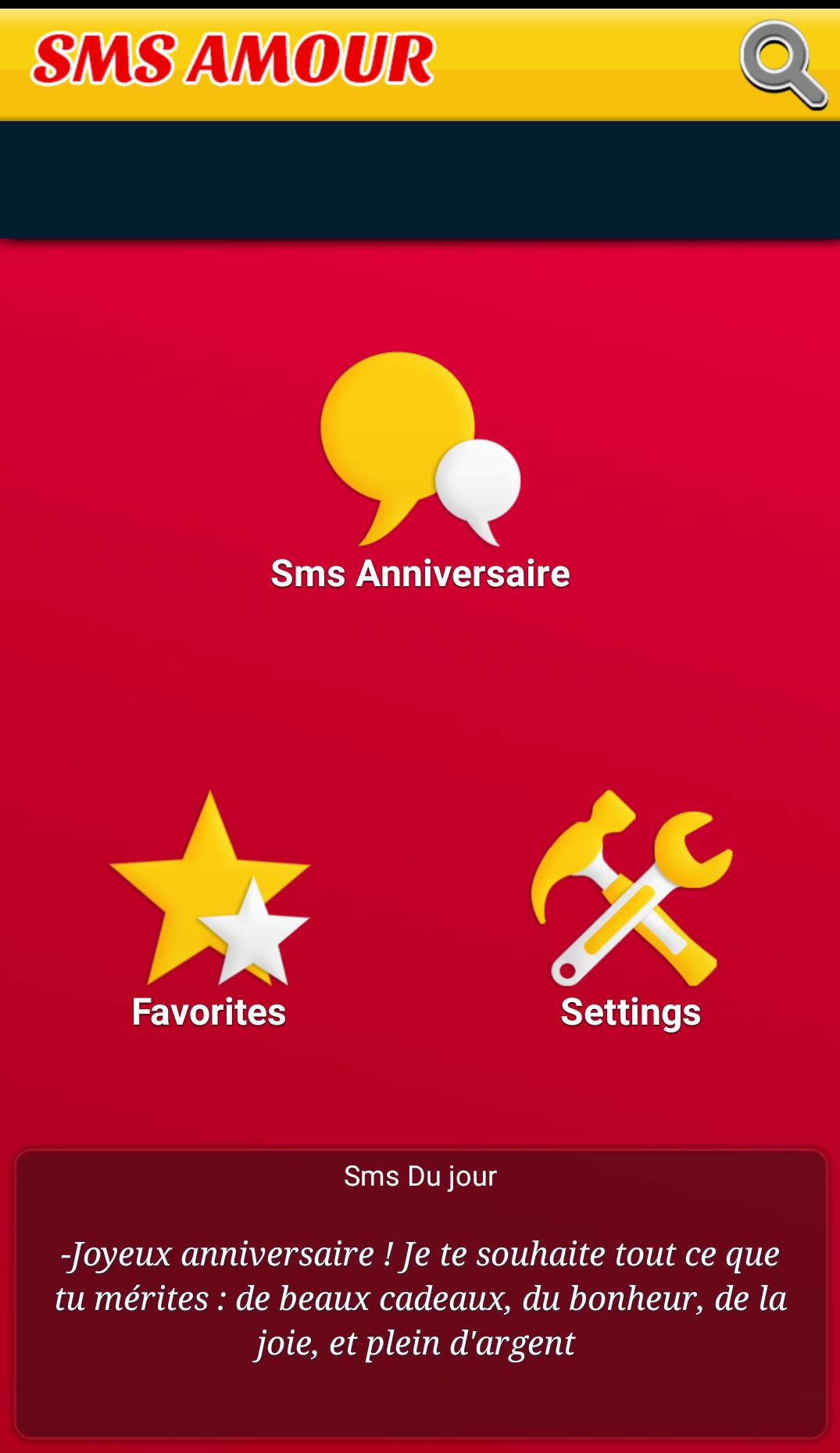 Top Sms Happy Birthday French for Android - APK Download