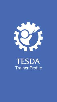 TESDA R4A Trainers Profile poster