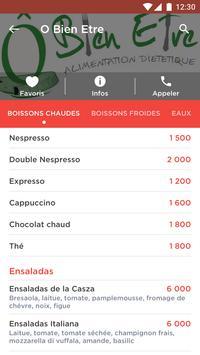 Mon Menu screenshot 2