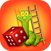 Snakes and Ladders 4 Players icon
